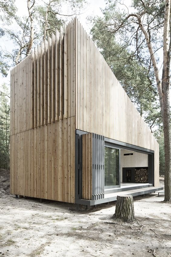 holiday home from containers