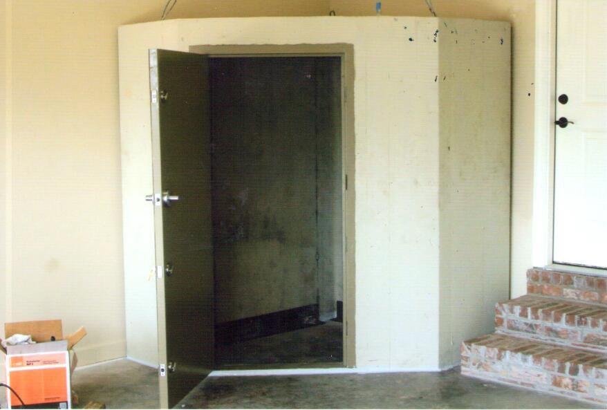 Sturdy In-Garage Safe Room