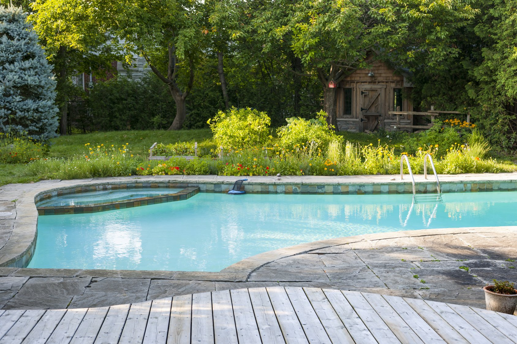 tips for building a pool in small backyard