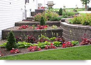 Retaining Walls with Plantings
