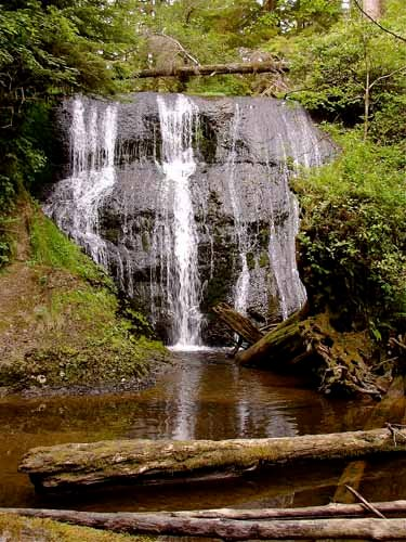Goodman Creek Falls, Olympic Peninsula Coast
