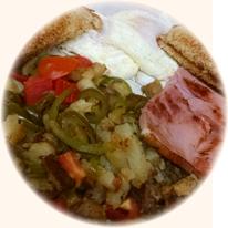 Breakfast wtih Ham