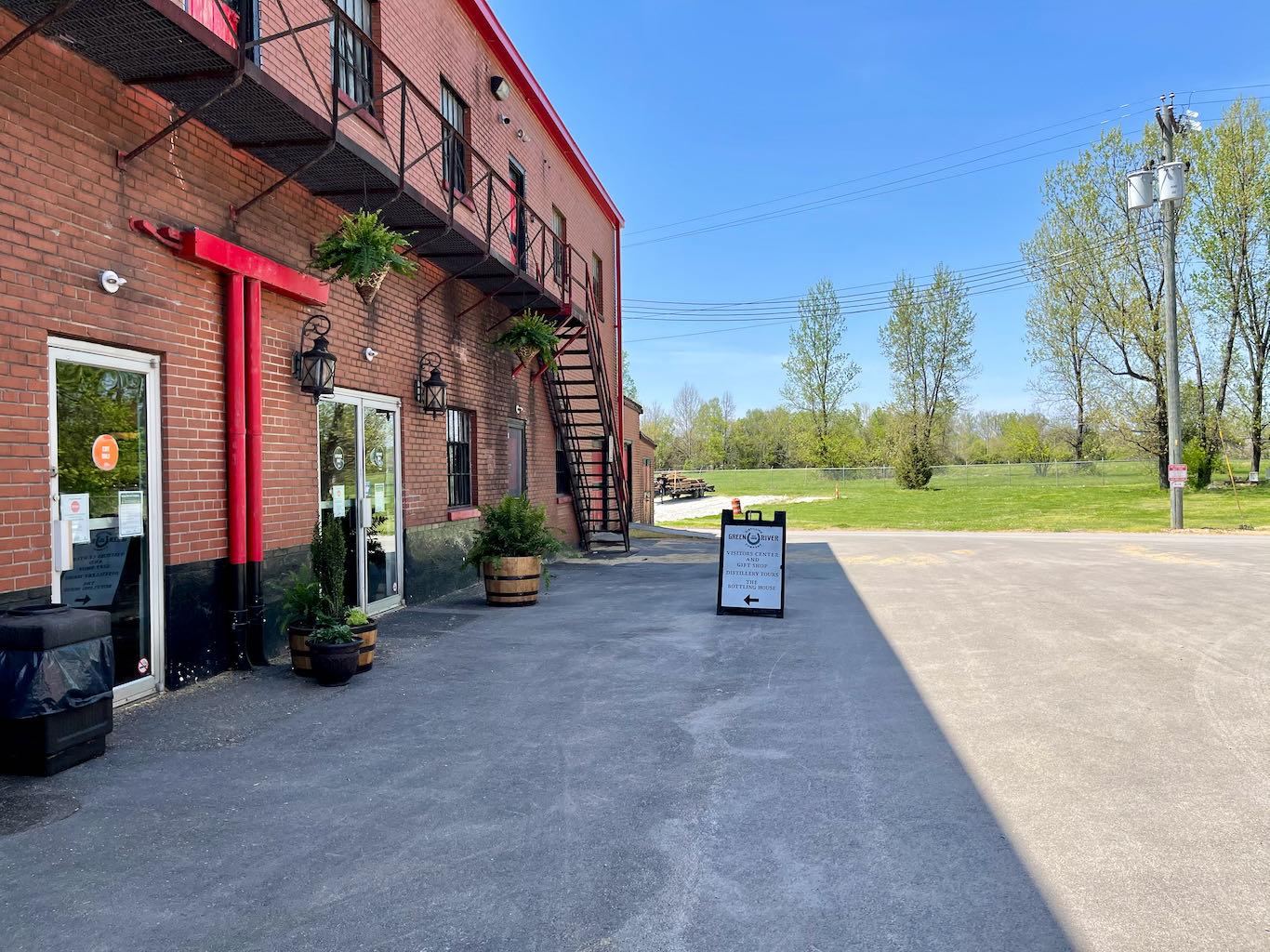 Visitor Center Entrance - Green River Distilling Co