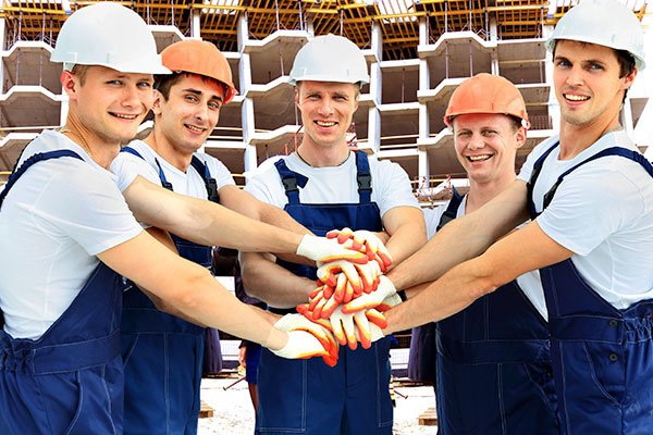 Group of Professional Carpenters