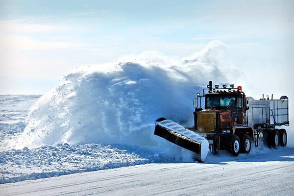 Road Snow Plow
