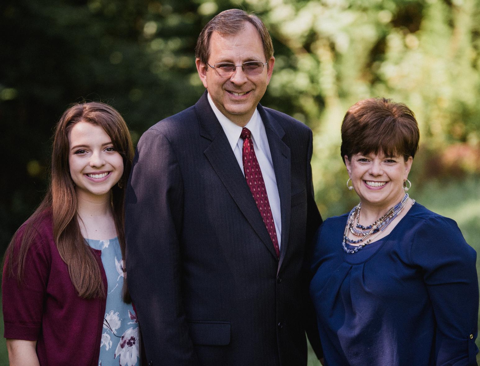 Pastor David Mims & Family