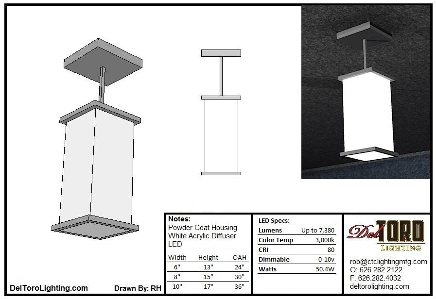 600P-Column Pendant