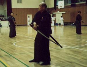 Nakamura Sensei teaching.