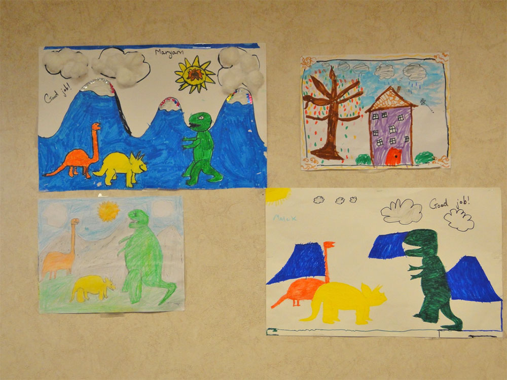 Kids' Artwork for School