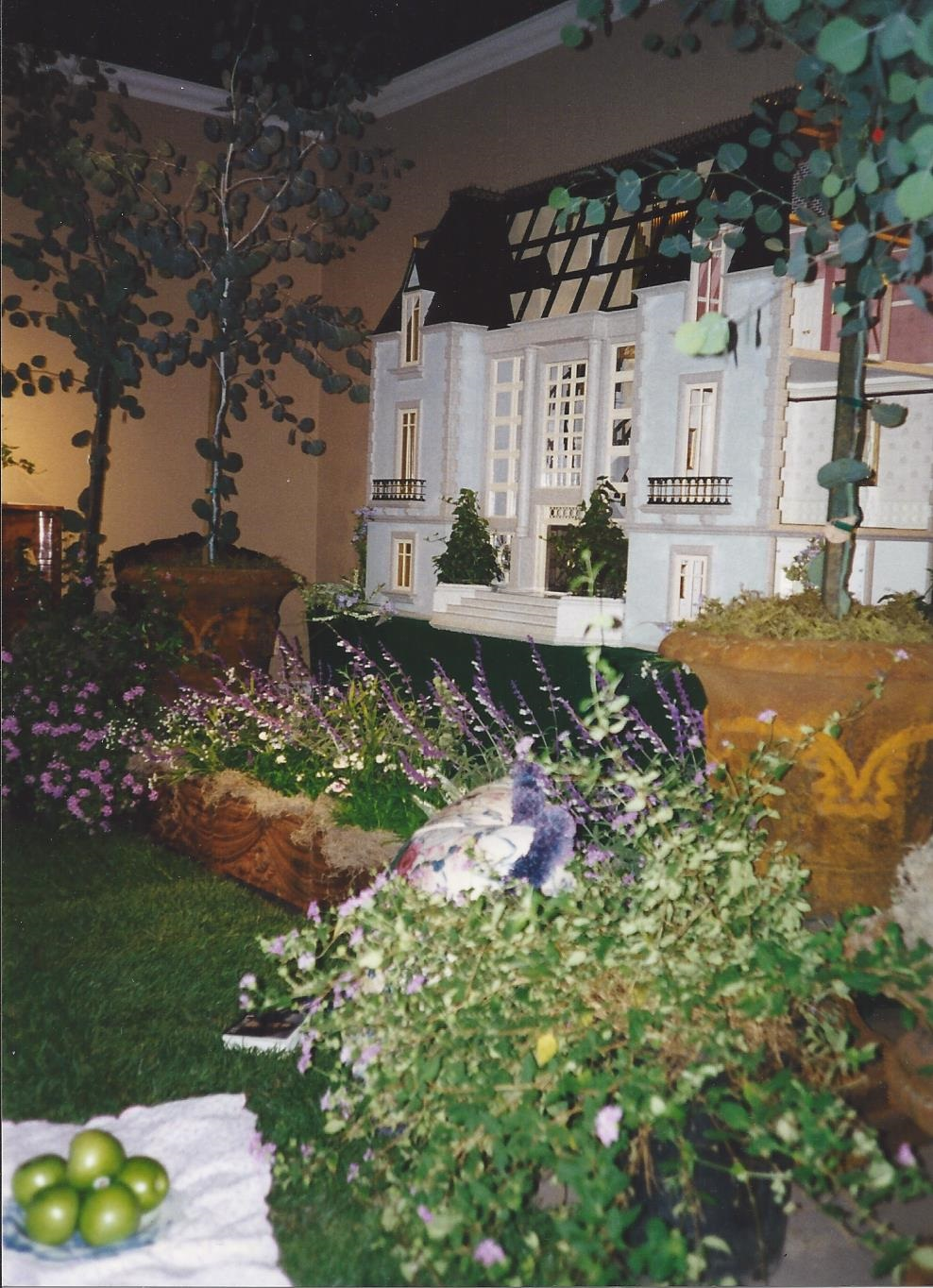 Chateau du Bois Garden Setting