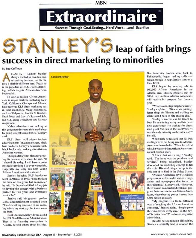 Article About Lamont Stanley 2