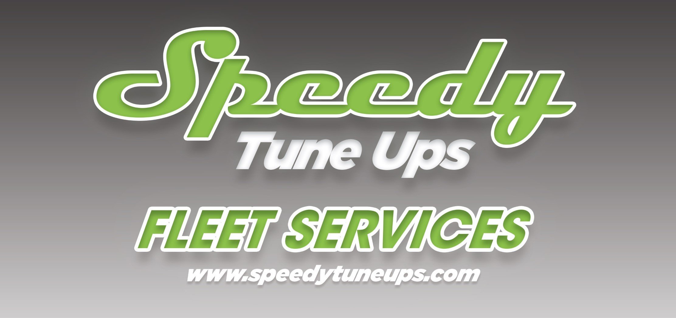 SPEEDY TUNE-UP'S MOBILE FLEET SERVICES