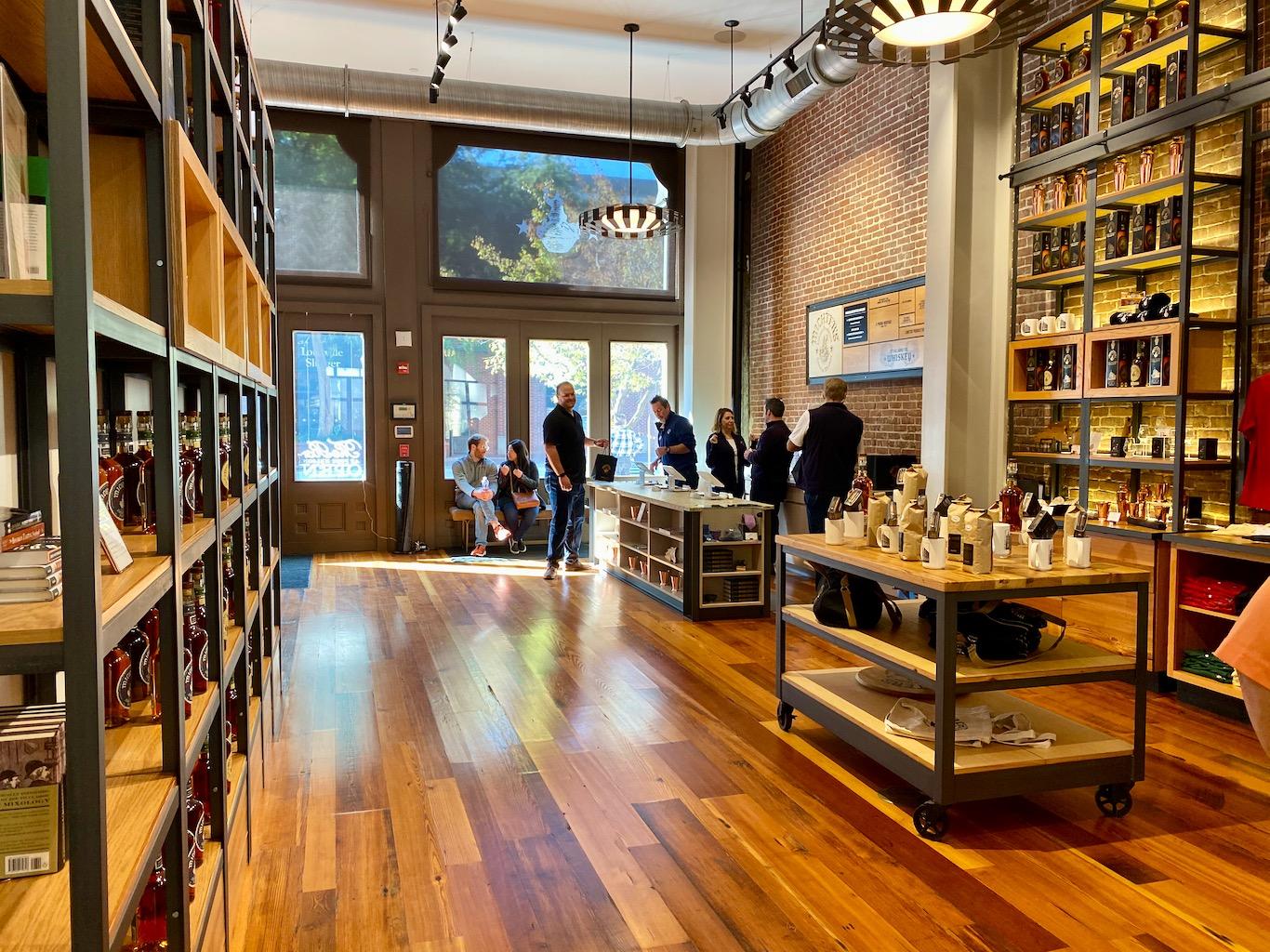 Gift Shop - Visitor Center - Michter's Distillery