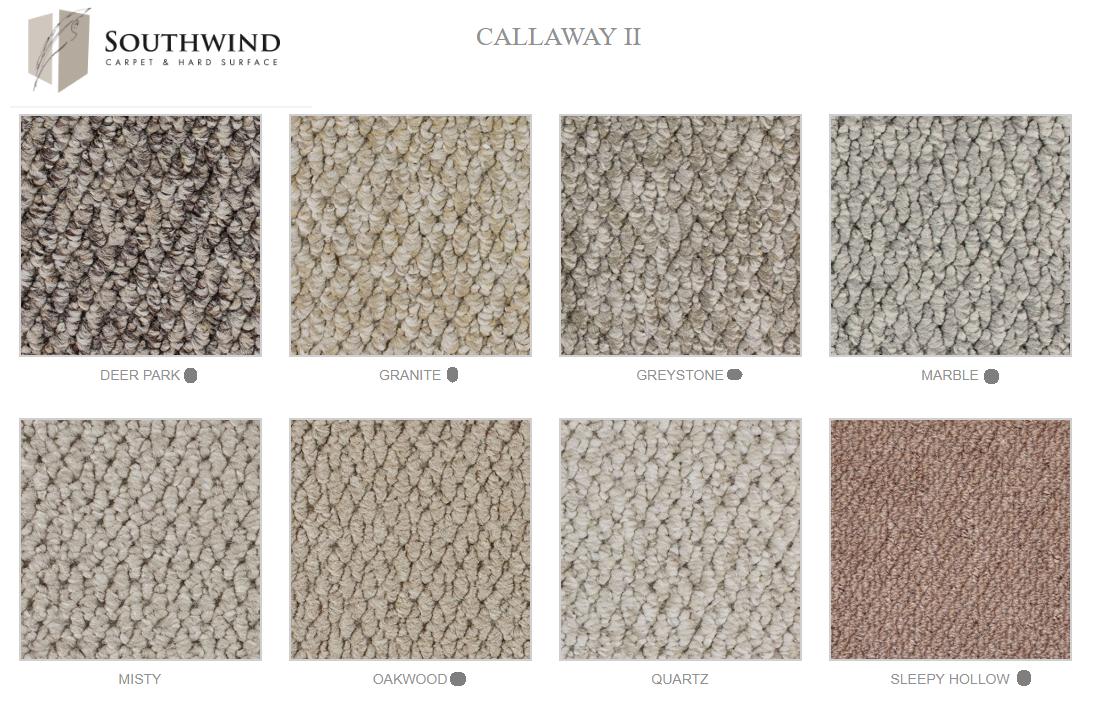 CALLAWAY   alfombra argollada  TIPO BERBER  100% Polipropileno  . Tráfico residencial  -  (1.153 g/m2)