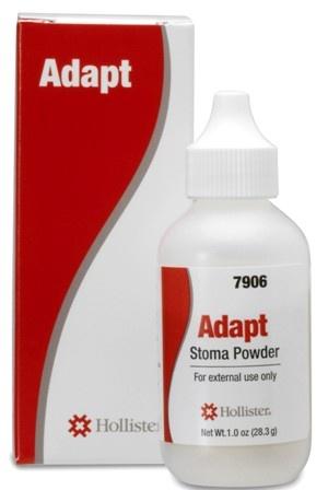 Polvo hidrocoloide cutáneo Adapt, ideal para proteger la piel periestomal de lesiones pequeñas, absorbe el exceso de humedad.