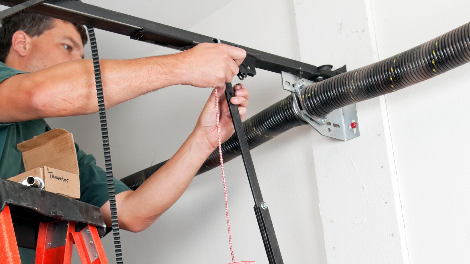 Garage Door Opener Repair in Clinton, IL