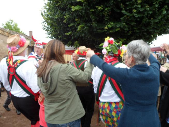 Mass Dance at the Tea Party - Viry Village Hall