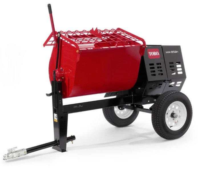 Mortar Mixer 8 cu ft (no gravel) $50/half $75/day
