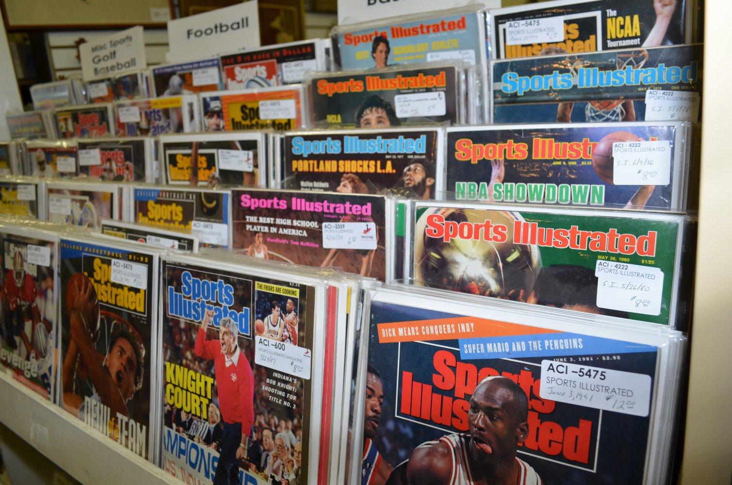 Vintage Sports Illustrated Magazines