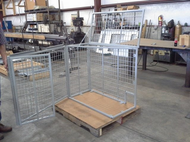 Theft Deterrent Cage for Mini-Split Equipment