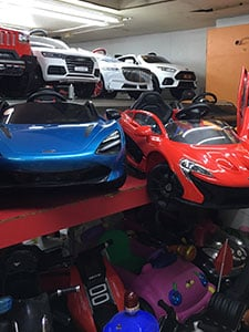 Sample Toy Cars