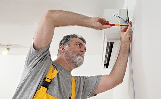 Electrical Installation Of Air Conditioner