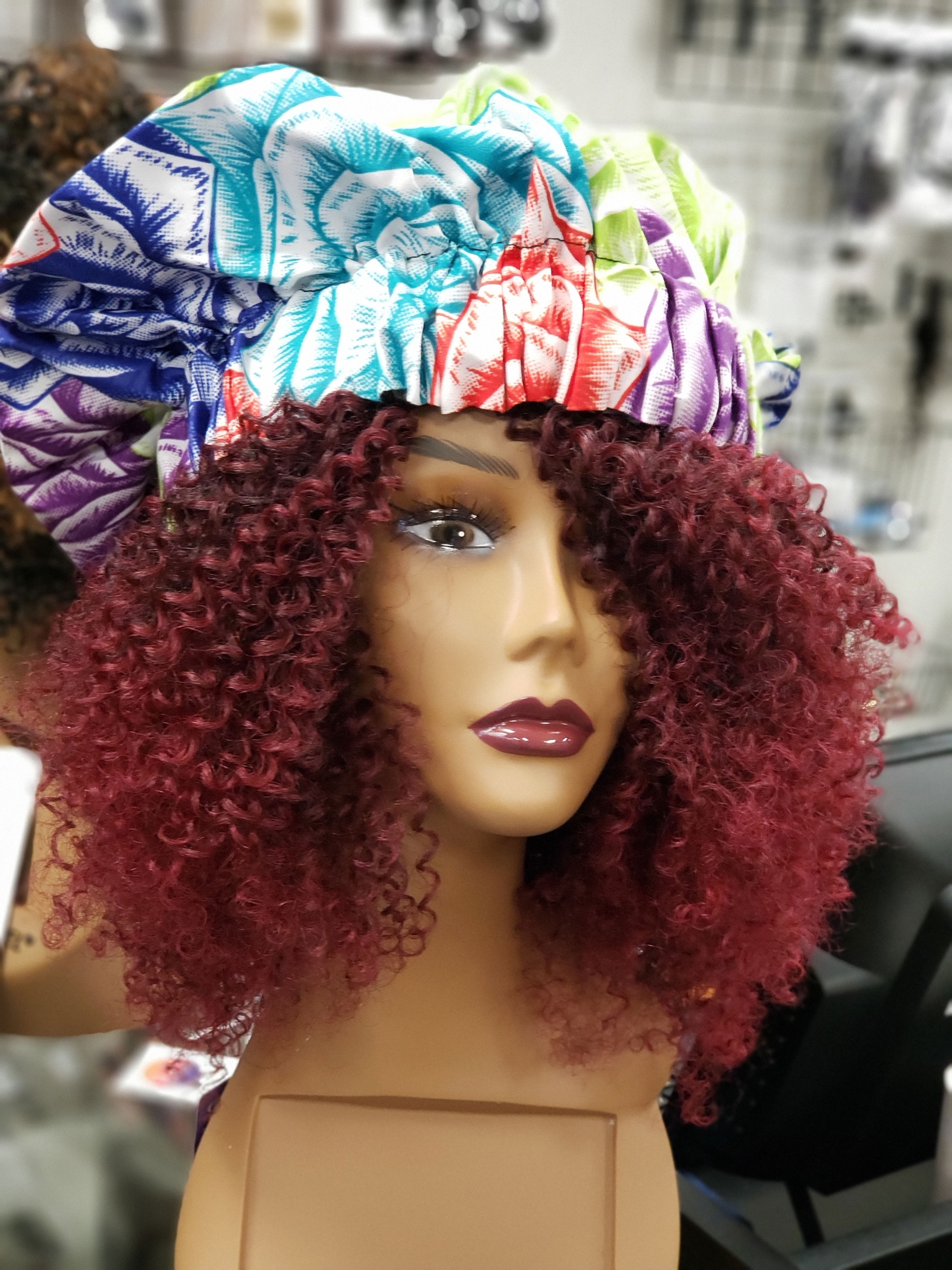 Curly Red Wig 2