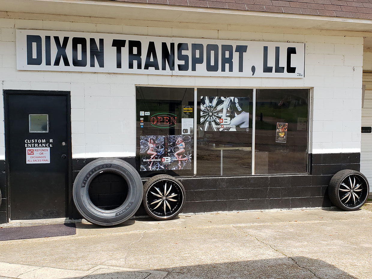 Dixon Transport, LLC Outside