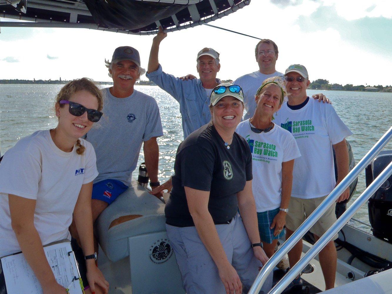 FLORIDA FISH & WILDLIFE RESEARCH INSTITUTE MOTE MARINE LABORATORY SARASOTA BAY ESTUARY PROGRAM & SARASOTA BAY WATCH