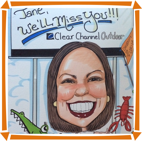 Caricaturefor Jane