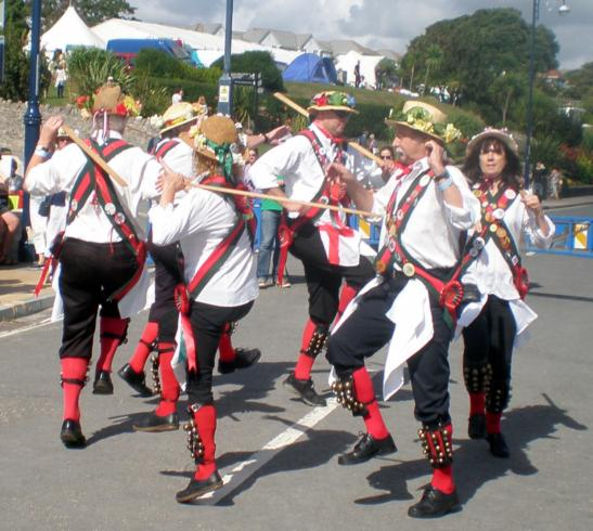 Start of the Flamboro Sword Dance