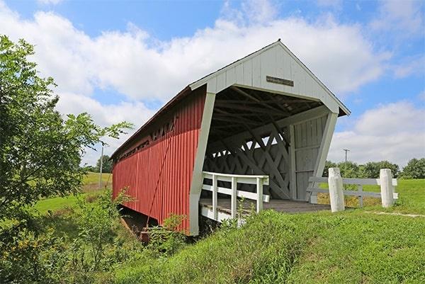 Imes Bridge, Madison County, Lowa
