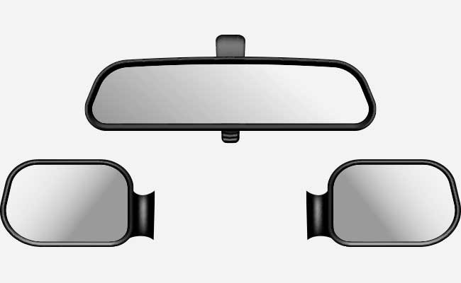 Set Of Car Mirrors