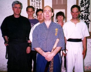 1998. Power Sensei with some Dojo members.