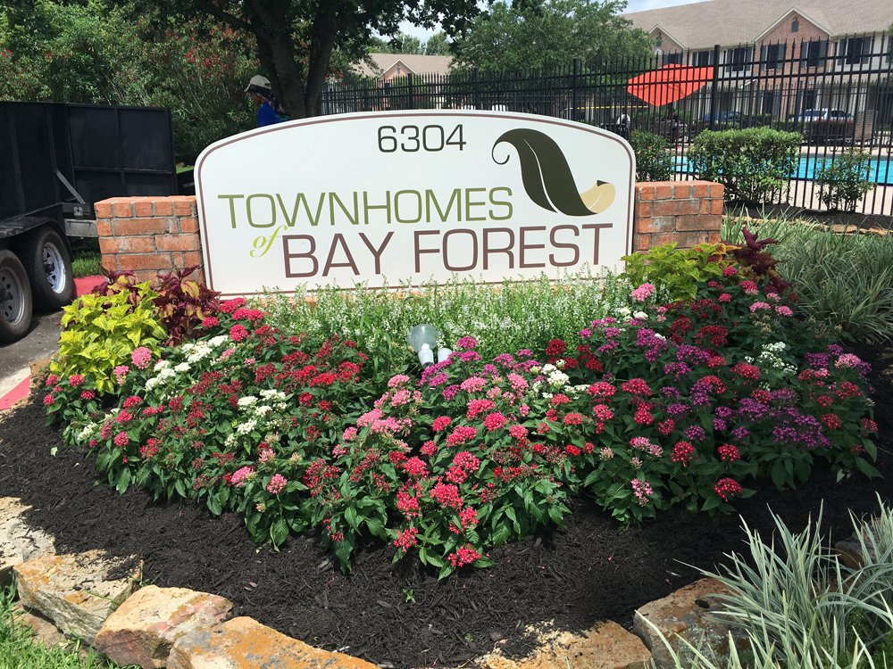 Bay Forest Flower Bed