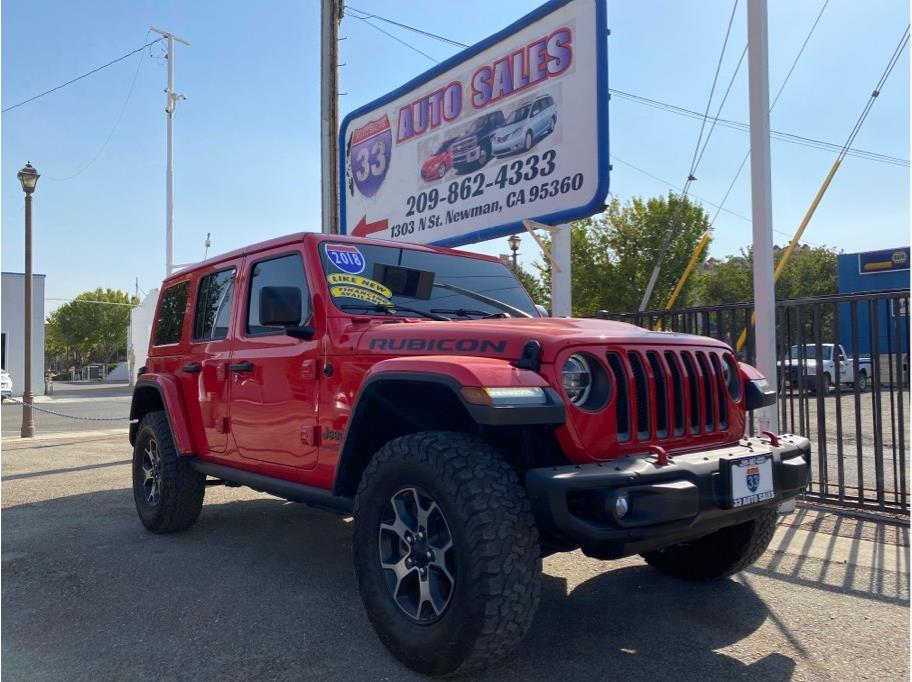 2018 Jeep Wrangler Unlimited All New Rubicon Sport Utility 4D Miles:48,120 Drive:4WD Trans:Automatic, 8-Spd Engine:V6, 3.6 Liter VIN:106861