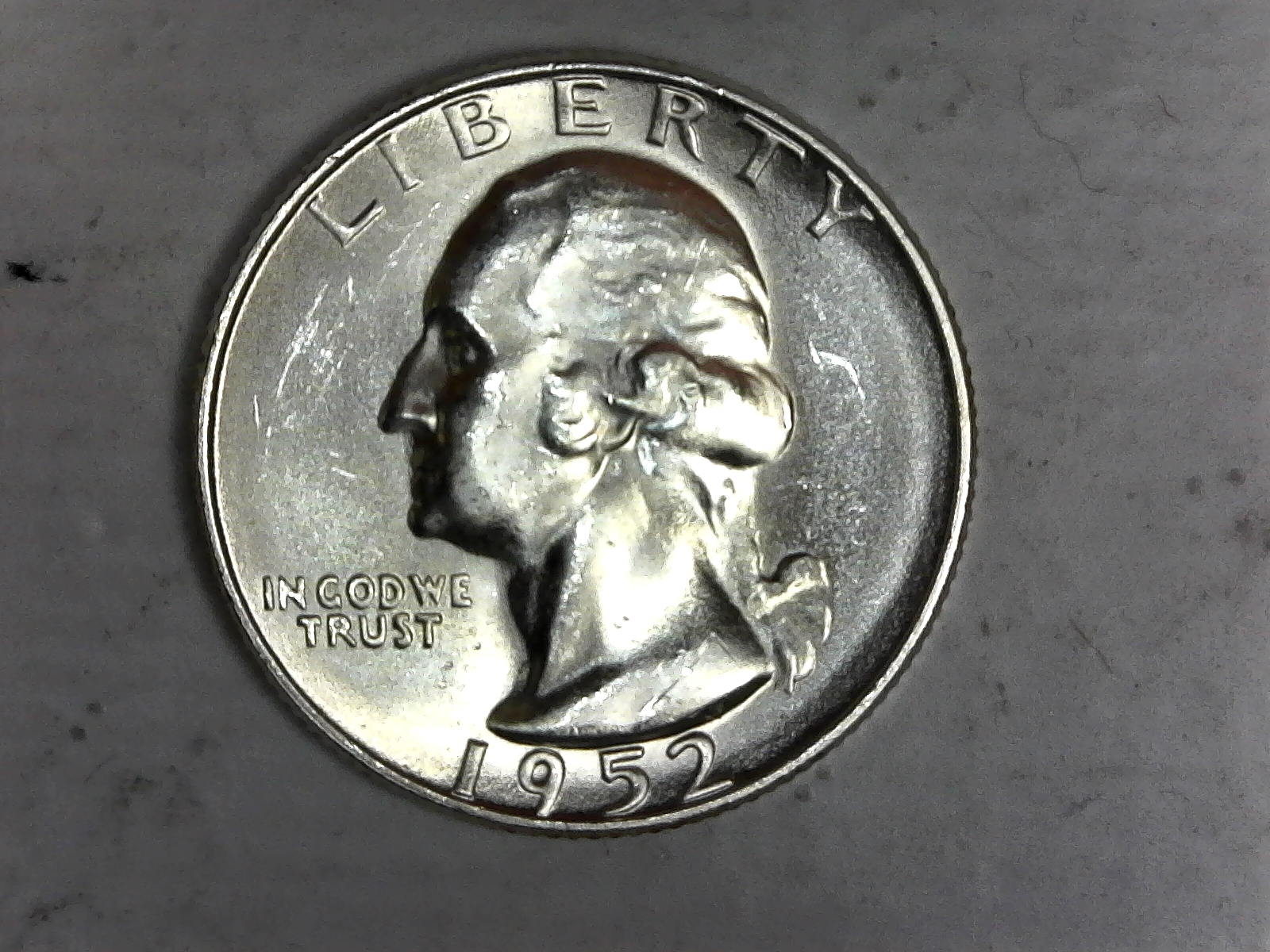 Click on Washington Quarter for Online Inventory