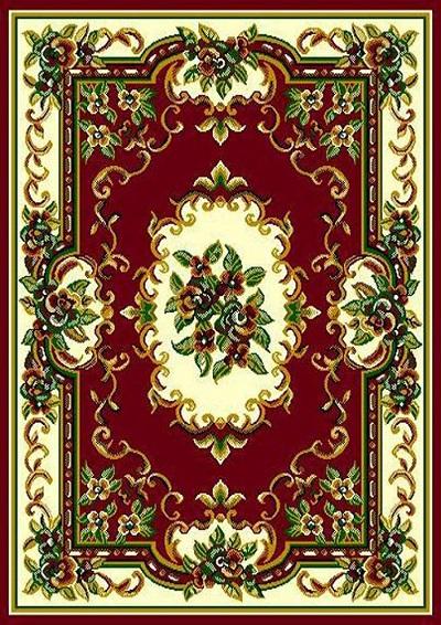 Tajmahal 117 Burgundy  5x7