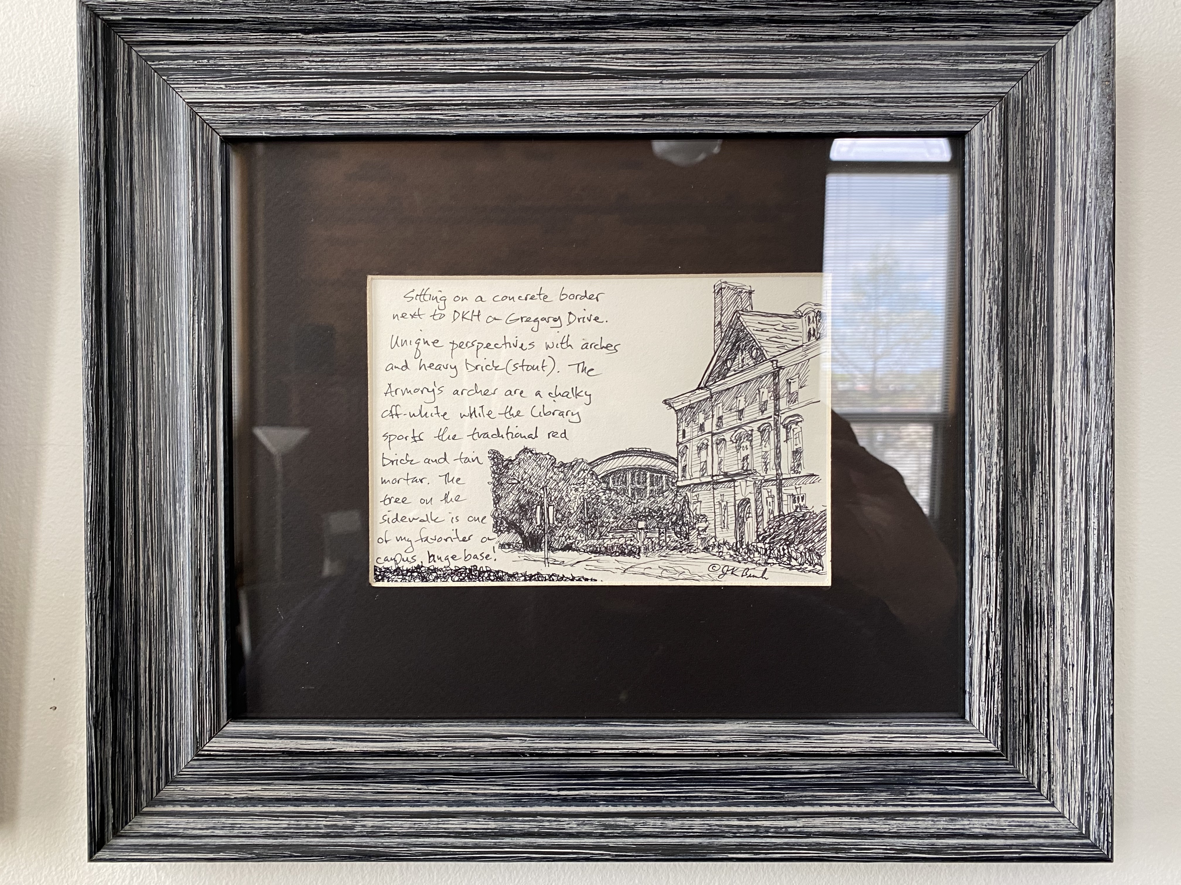 """Gregory Drive ink 5"""" X 7"""" $50"""
