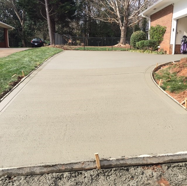 New Home Driveway
