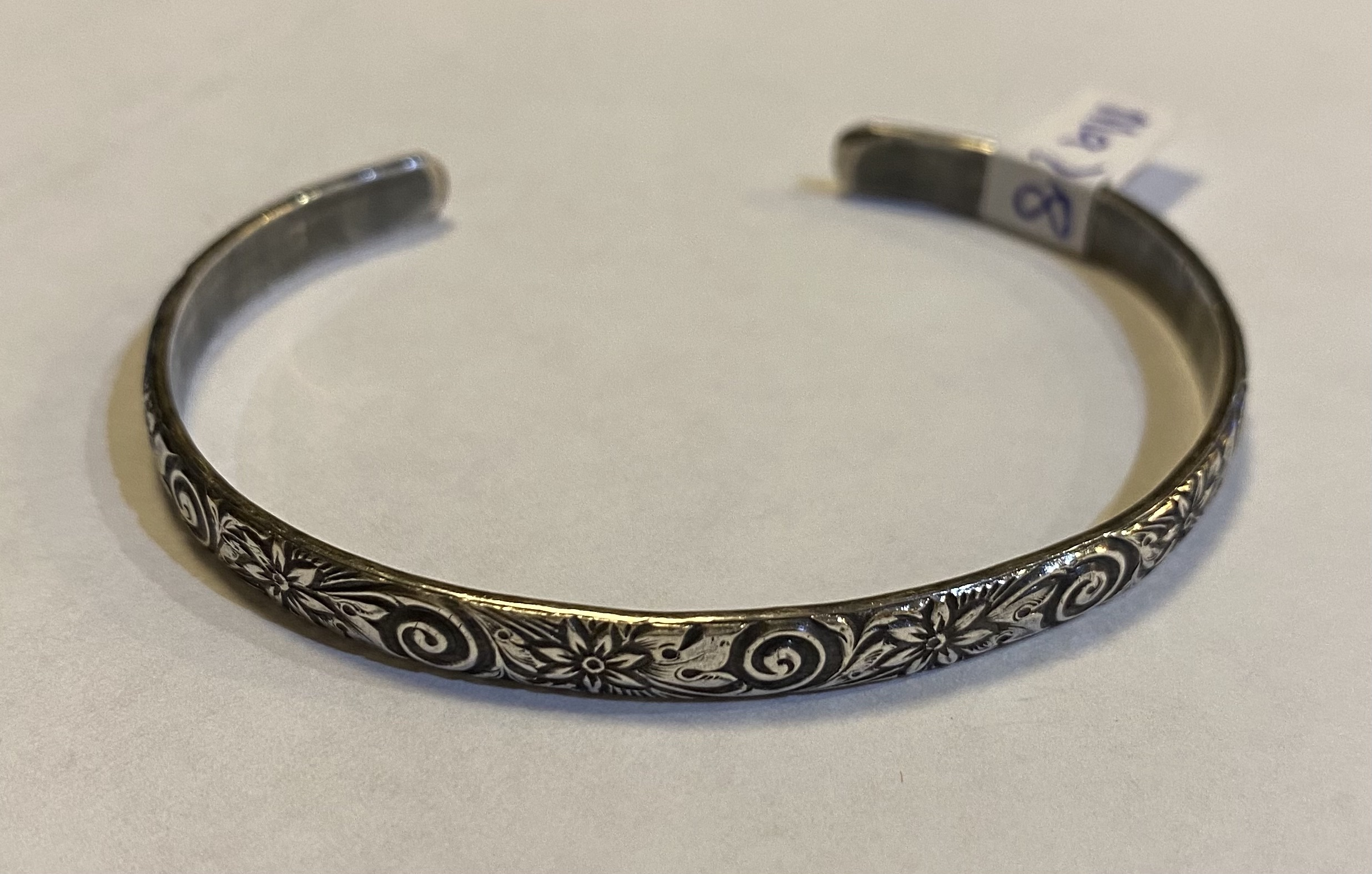 Patterned Cuff   Ma78 Sterling Silver $40.