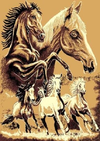 Horse Family  5x7
