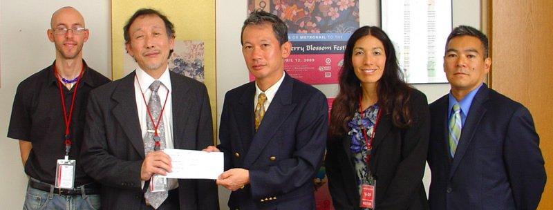 TSIR at the Embassy of Japan