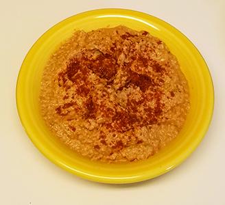 Cinnamon Apple Hummus