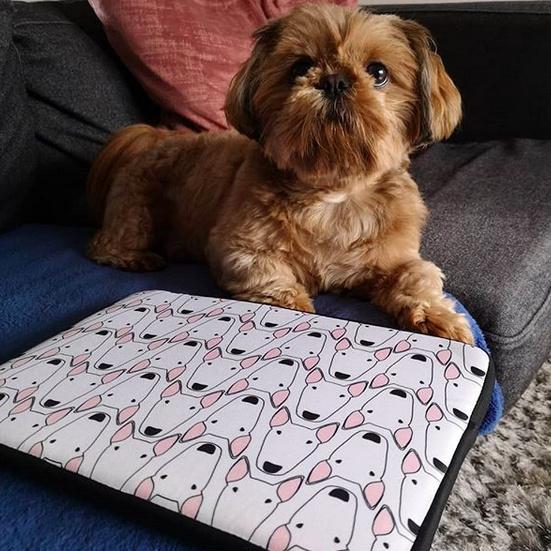 Bully Gridlock Laptop Sleeve