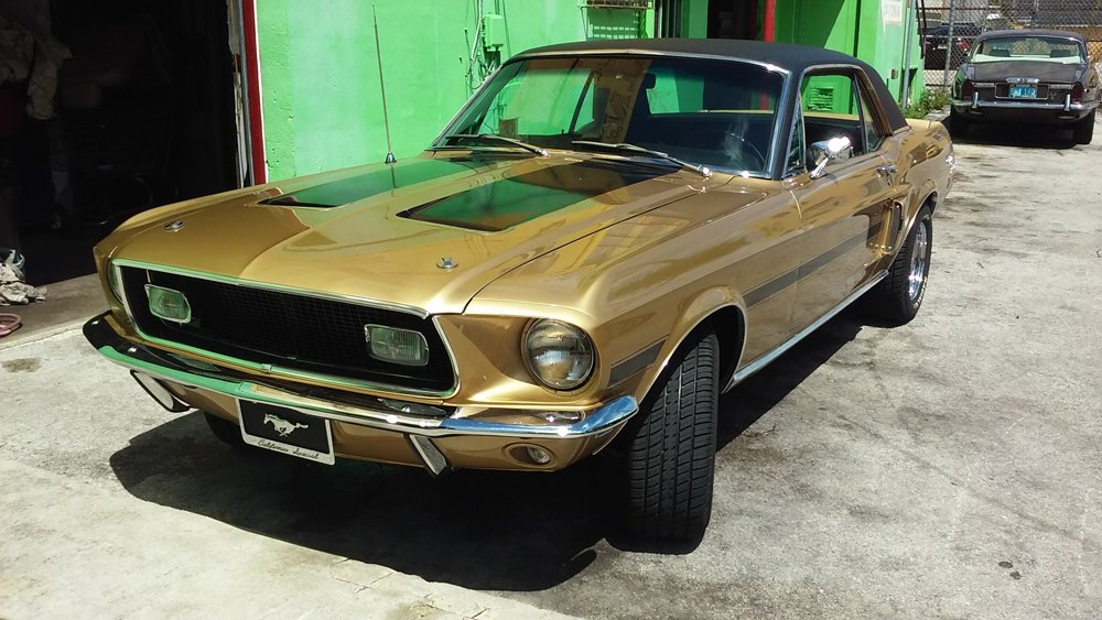1968 Ford Mustang GTCS,302