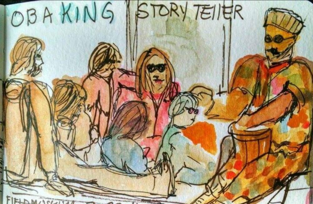 Storyteller, Oba William King
