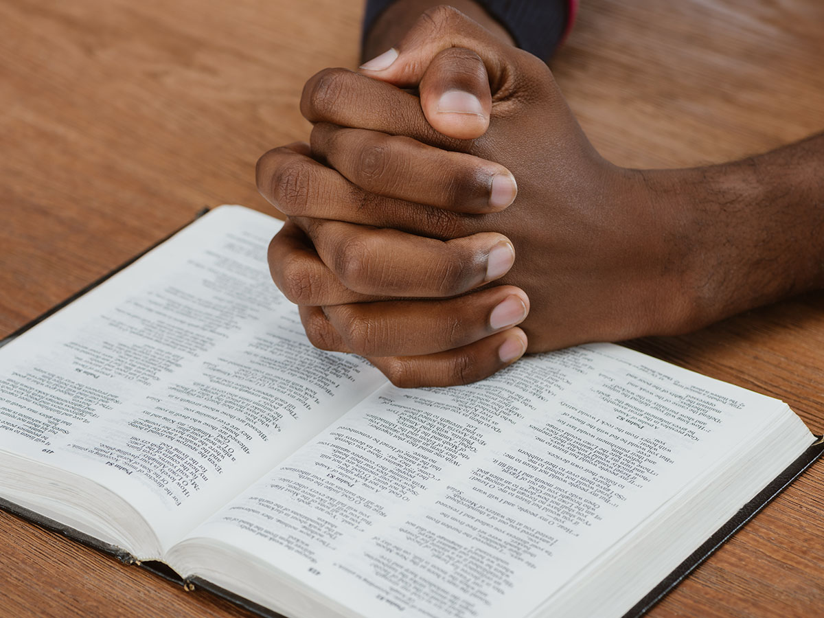 Praying With Holy Bible
