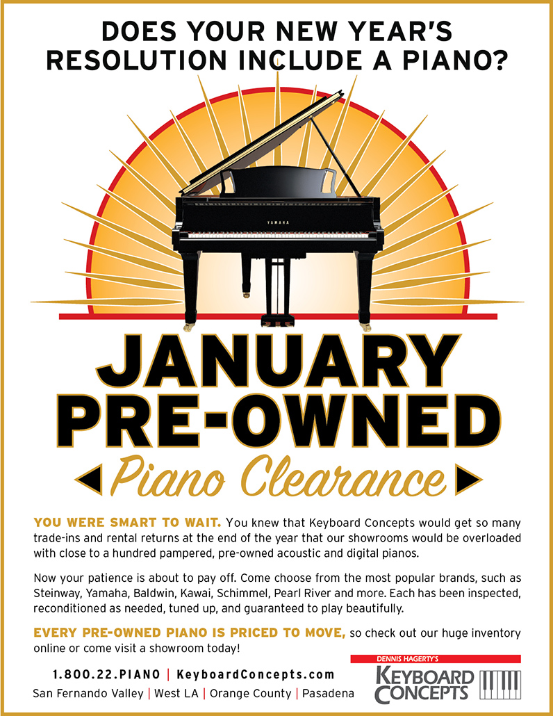 Pre-Owned promotion for Keyboard Concepts
