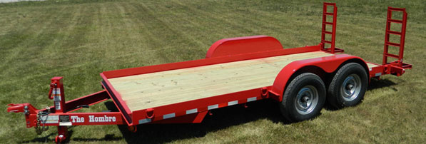 16' Trailer 12000 lb max $85/half $110/day **tow vehicle must have braking system